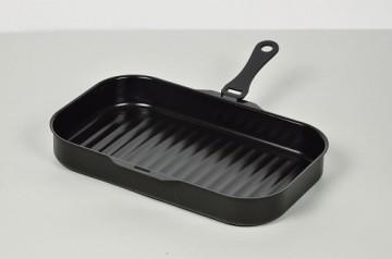 セラクッキング角型グリルパン30×18cm〈ウェーブ〉