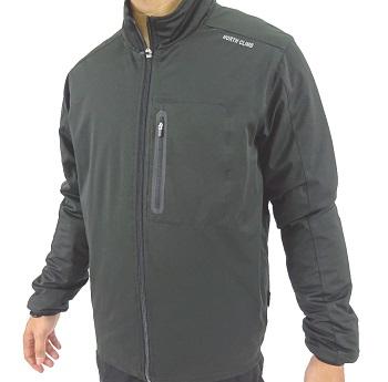 防風ストレッチジャケット ブラック Mサイズ