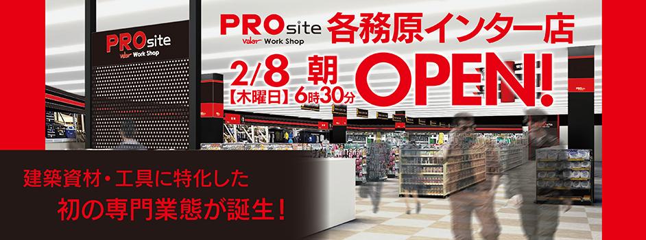 2/8PROsite各務原インター店OPEN